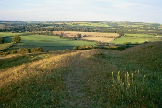 Meon Valley, South Downs view © South Downs Joint Committee