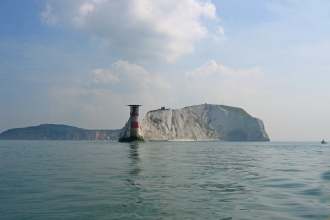 The Needles Lighthouse on the Isle of Wight