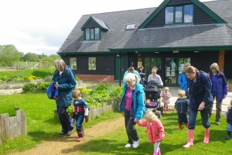 Wildlife tots testwood centre summer