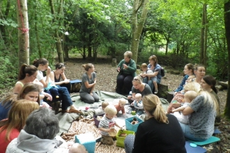 Natural Babies event