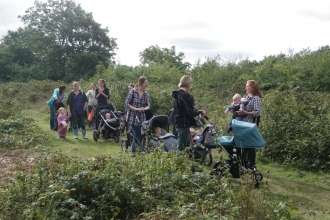 Blashford Lakes Buggy Walk