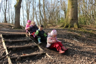 Swanwick Lakes Friday Tots Feb ©Lianne de Mello