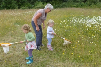 Blashford Lakes Wildlife Tots Meadow