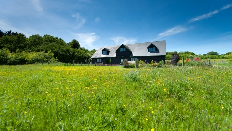 Testwood Lakes education centre in summer