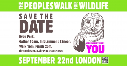 People's Walk for Wildlife September 2018