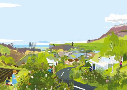 Nature Recovery Network illustration