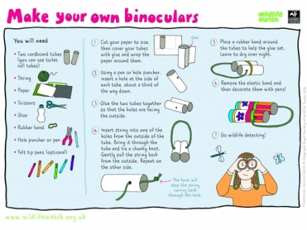 Make your own binoculars (2)