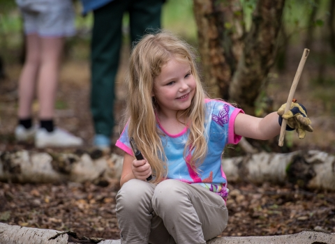 Forest School session © Matthew Roberts